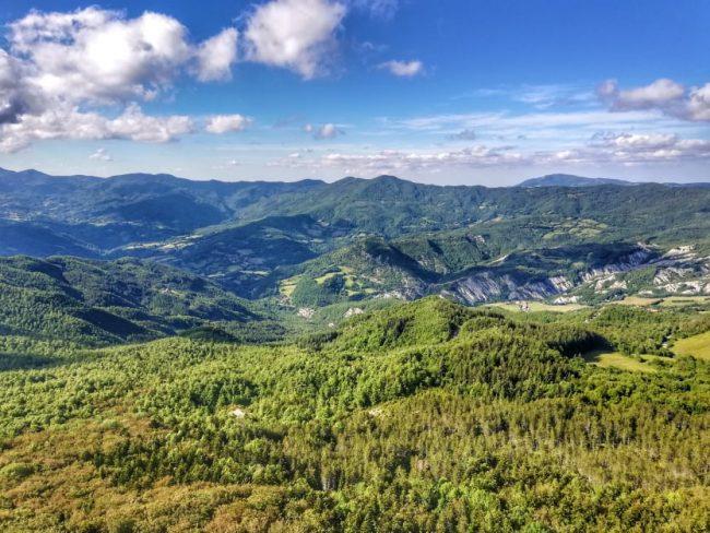 escursione sul Monte Penna